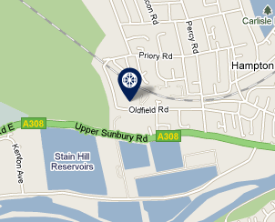 Our offices are at Unit 2, Kempton Gate Business Centre, off the A308 in Hampton.